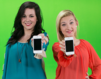 Mellow Mushroom Promo - Green screens - Focus Fab Girls
