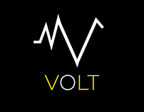 Volt Energy Drink Branding