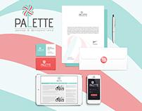 Palette company  / Brand identity
