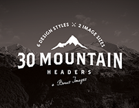 30 Mountain Hero/Headers