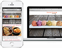 Sweet Responsive Site & Mobile Apps for Thai Gelato!
