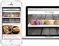 Sweet Responsive Site & Mobile Apps for Thai Gelato!