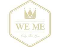 """""""WE ME"""" logo"""