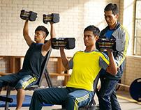 adidas men's training FW2013