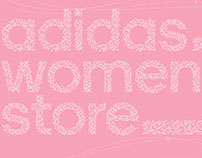 adidas women store escalator crown poster 2014