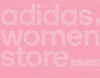 adidas women store escalator crown poster 2014