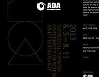 2013 ADA Poster Design