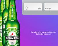 Advert concept for heineken.