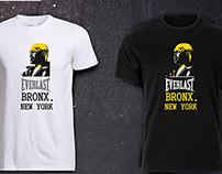 T- shirt design for EVERLAST