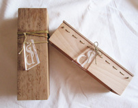 Gift boxes out of wood