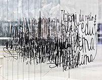 "Hand lettering exhibition: ""Osam i trideset"""