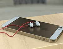 Iphone and Beats by Dre earpiece