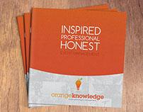 Orange Knowledge - Branding / Website