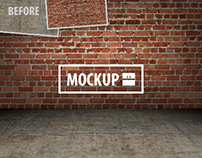 11 Interior Mockups Set (Photoshop)