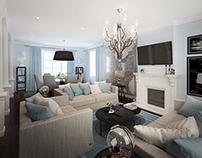 Light classic interior
