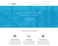 Theme design for a sitebuilder