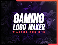 Mascots & Logodesign with the Gaming-Logo-Maker