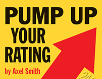 Pump Up bookcover design
