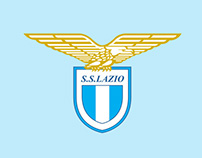 Graphic design for S.S. Lazio official online store