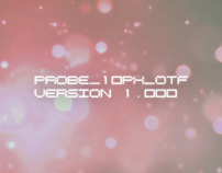 PROBE_10PX_OTF Regular Version 1.000