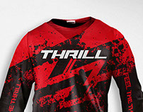 Thrill 2013 Motocross Jersey Design