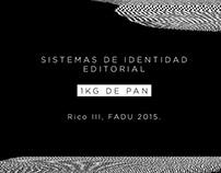 Sistemas de Identidad Editorial - 1KG de Pan
