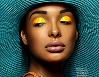 Beauty editorial in MOD MAGAZINE / JUL/AUG 2014 ISSUE