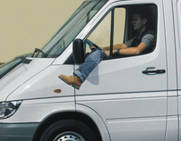 the first van with automatic gear shift (2001)