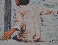 Ilustración en Lápiz de color -fullcolor-