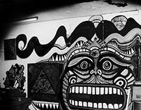 The Studio Wall Grows