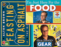 Alton Brown book program