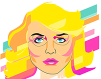 Pop Portrait : Blondie