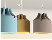 Tie-Up pendant lamp (Concept)