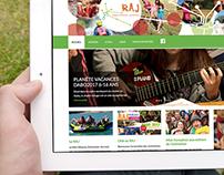Conception Site Web du Réseau Animation Jeunes