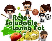 Reto Saludable Losing Fat for HerbaLife
