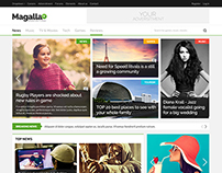 Magalla Magazine Theme on Themeforest
