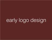 early logo design