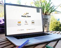 Identidade Visual - Market & Share