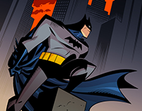 Inking & Coloring Bruce Timm