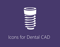 Icons for Dental CAD