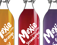 Moxie Flavored Water