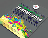 EA SPORTS FIFA WORLD CUP 2014 Event Invitation