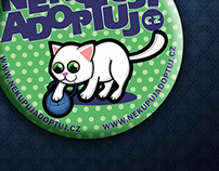 Badge project for animal association in CZ