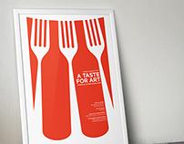 Taste For Art - Event Poster