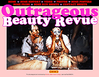 Web Site for The Outrageous Beauty Revue