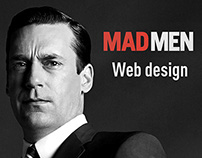 Web design MAD MEN