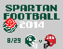 Spartan Football 2014 Schedule