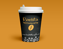 Coffee Promo Cup Design
