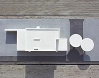 Entrance group layout / Макет входной группы