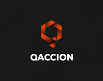 Branding and web design / QACCION